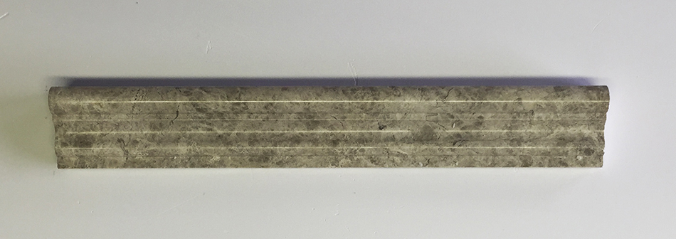"""Silver Sky Crown Molding - 2"""" x 12"""" Image"""