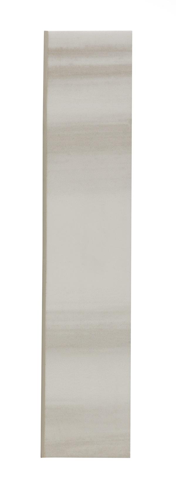 "Horizon Taupe Ceramic Bullnose - 2"" x 10"" Image"
