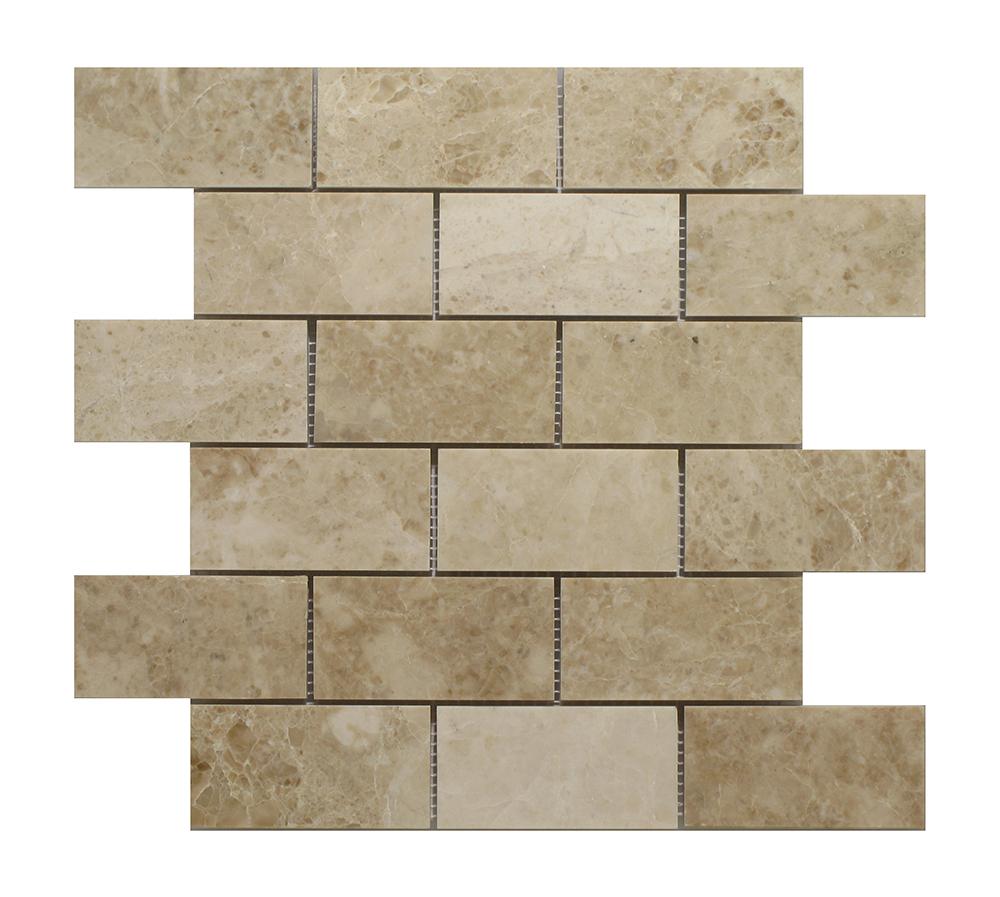"""Cappucino Brick - 2""""x4"""" Image"""