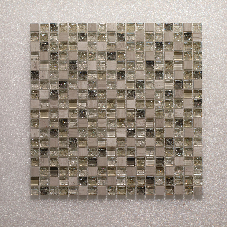 Glass & Stone Blend Square Mosaic MAG 4419-SQ Image