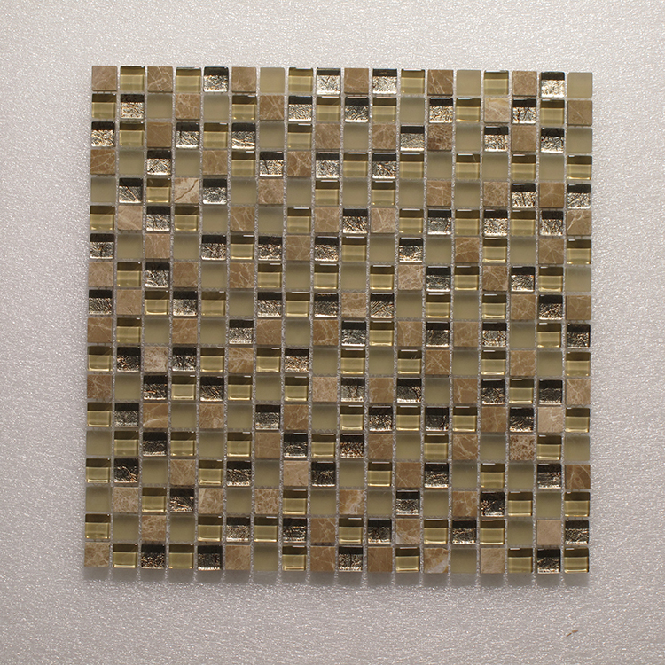 Glass & Stone Blend Square Mosaic MAG 4438-SQ Image