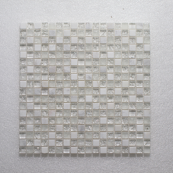 Glass & Stone Blend Square Mosaic MAG 8029-SQ Image