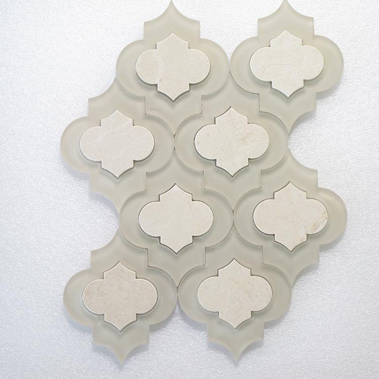 "MAG 903 Crema Marfil & Glass - 12.4"" X 9.3"" Image"