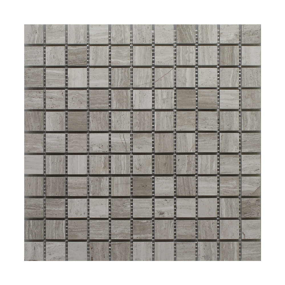 """Oyster Gray Square - 1"""" x 1"""" Image"""